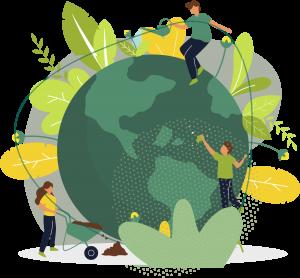 El Día 22 de abril celebramos el Día de la Tierra.