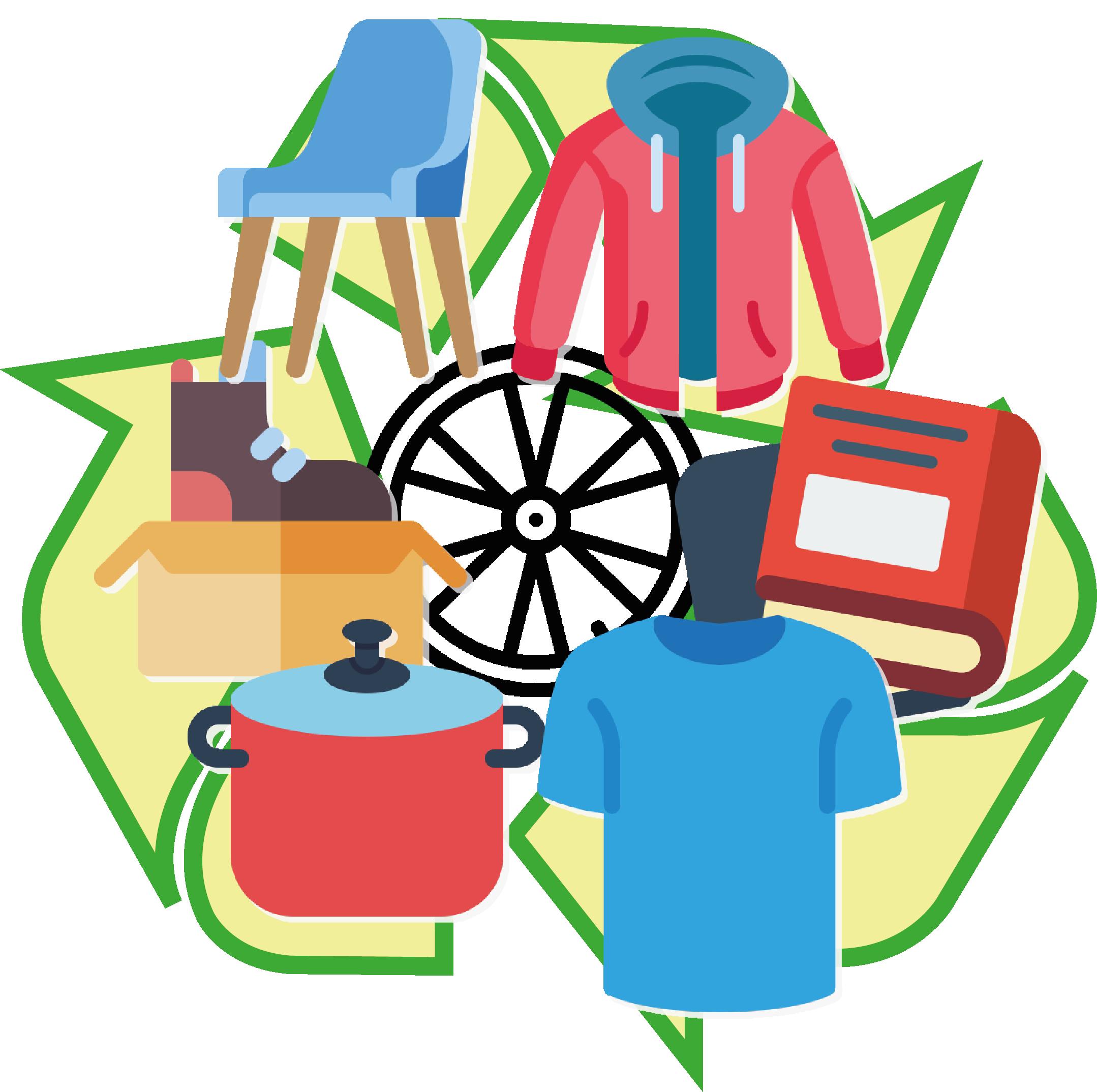 Cosas hechas con lo que reciclamos